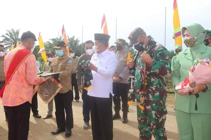 ABDULLAH SANI : TMMD WUJUD SINERGITAS PEMBANGUNAN DAERAH BERSAMA TNI