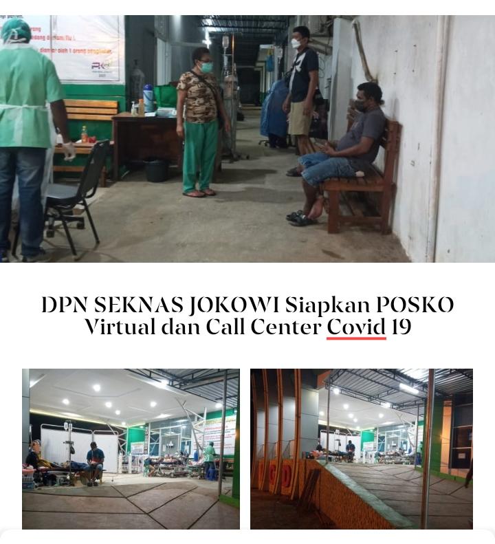 DPN Seknas Jokowi Siapkan Posko Virtual Covid-19, Galang Keluhan Warga