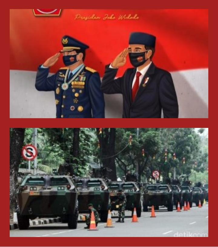 Gelar Pameran Alutsista di Sekitar Istana Kepresidenan