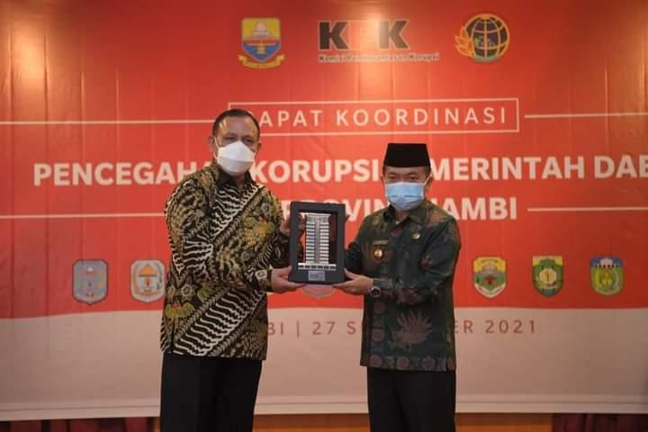 Gubernur Jambi Gandeng KPK, Cegah dan Berantas Korupsi Melalui Program Terintegrasi