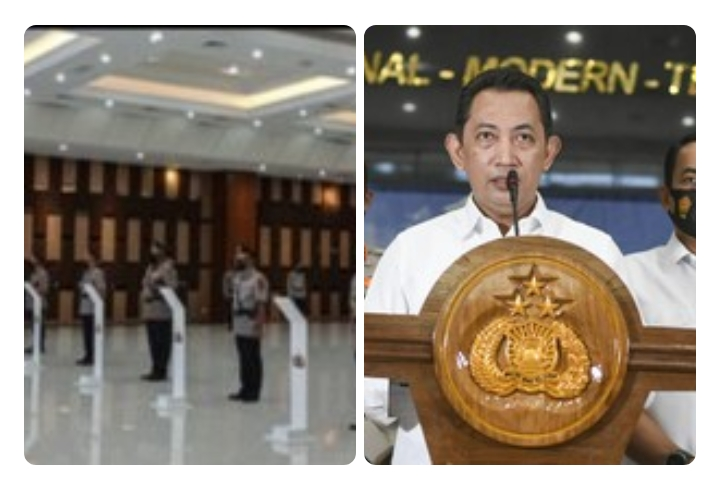 Kapolri Mutasi Besar-Besaran 504 Pati dan Pamen Dilingkup Polda dan Polres se-Indonesia