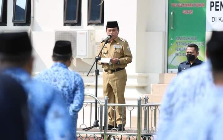 Perdana Al Haris Kukuhkan Pejabat  Pimpinan Tinggi Pratama Lingkup Pemprov Jambi