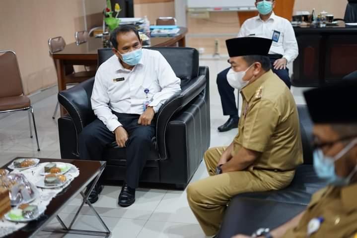 Kunjungan Perdana Gubernur Alharis ke BPKP Provinsi Jambi