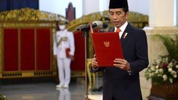 Presiden Joko Widodo Lantik Gubernur dan Wakil Gubernur Jambi Terpilih  hari ini