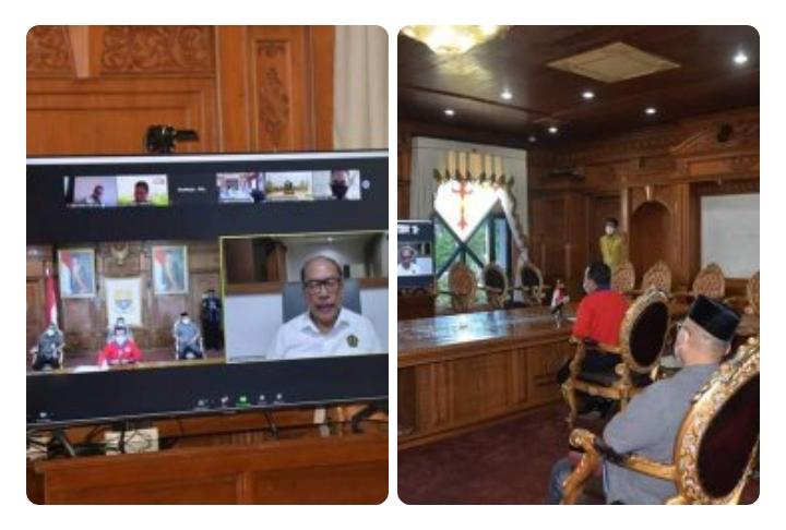 Dirjen Migas Bersama Gubernur Jambi Susun Tim Penanggulangan Pengeboran Migas Illegal
