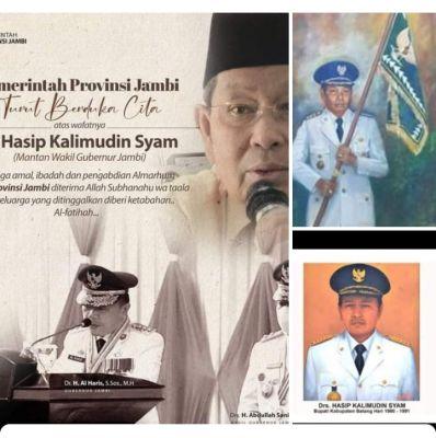 Datuk Hasip Kalimudin Syam Wafat, Masyarakat dan Pemprov Jambi Berduka