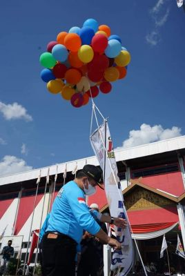 Gubernur Jambi Al Haris Lepas 101 Atlet Jambi ke PON XX Papua