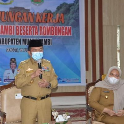 Kunker ke Muaro Jambi, Gubernur: Percepat Pembangunan Jalan Tol Palembang - Jambi - Riau