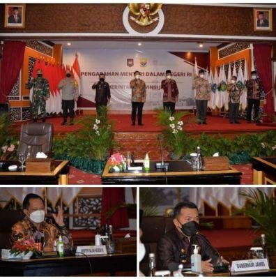 Mendagri Tito Karnavian Apresiasi Pemprov Jambi atas penanganan WabahCovid-19
