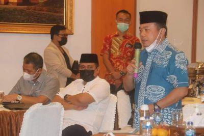 Percepat Pembangunan Jambi, Gubernur Kumpulkan Kepala Balai