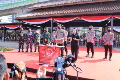 POLRI Gelar BAKSOS Serentak Jelang Hari Bhayangkara ke - 75