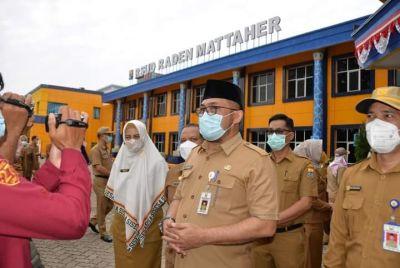 Sekdaprov: Tegaskan Disiplin Pegawai, Tingkatkan Pelayanan Rumah Sakit