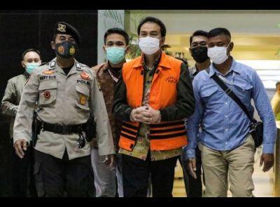 Wakil Ketua DPR RI AZ Dijemput Paksa, Ditahan KPK